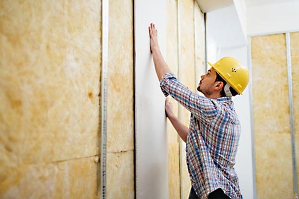 Монтаж стен и перегородки из гипсокартона