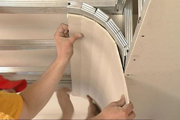 Сложные конструкции из гипсокартона