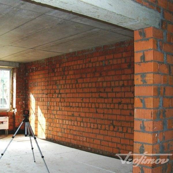 Кладка стен и перегородок из киприча