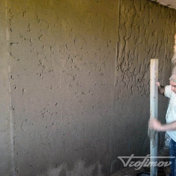 Маячная штукатурка стен