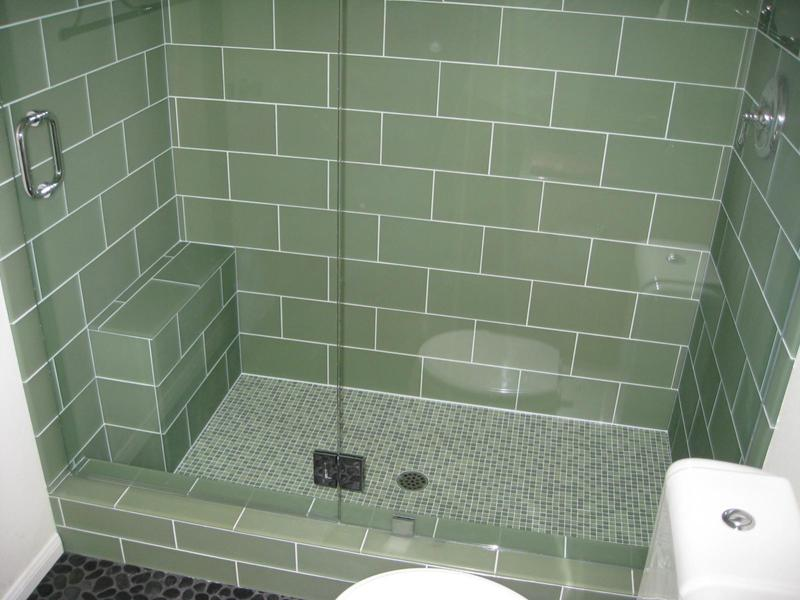 Ванная комната с поддоном для душа своими руками