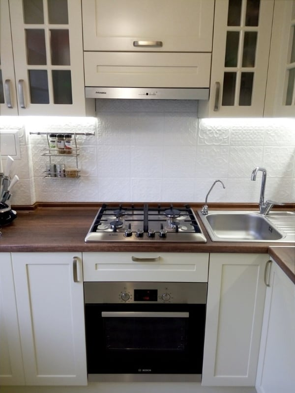 Ремонт кухни и санузла