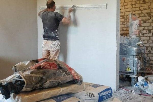 Машинная штукатурка стен Харьков