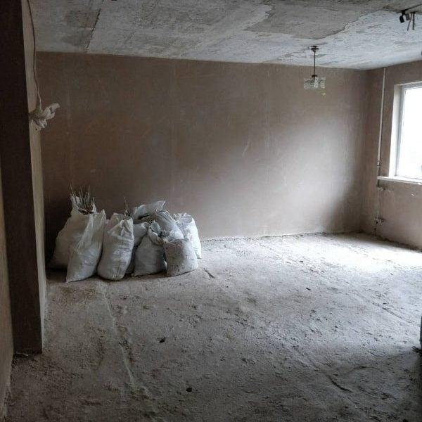 Подготовка стен под машинную штукатурку