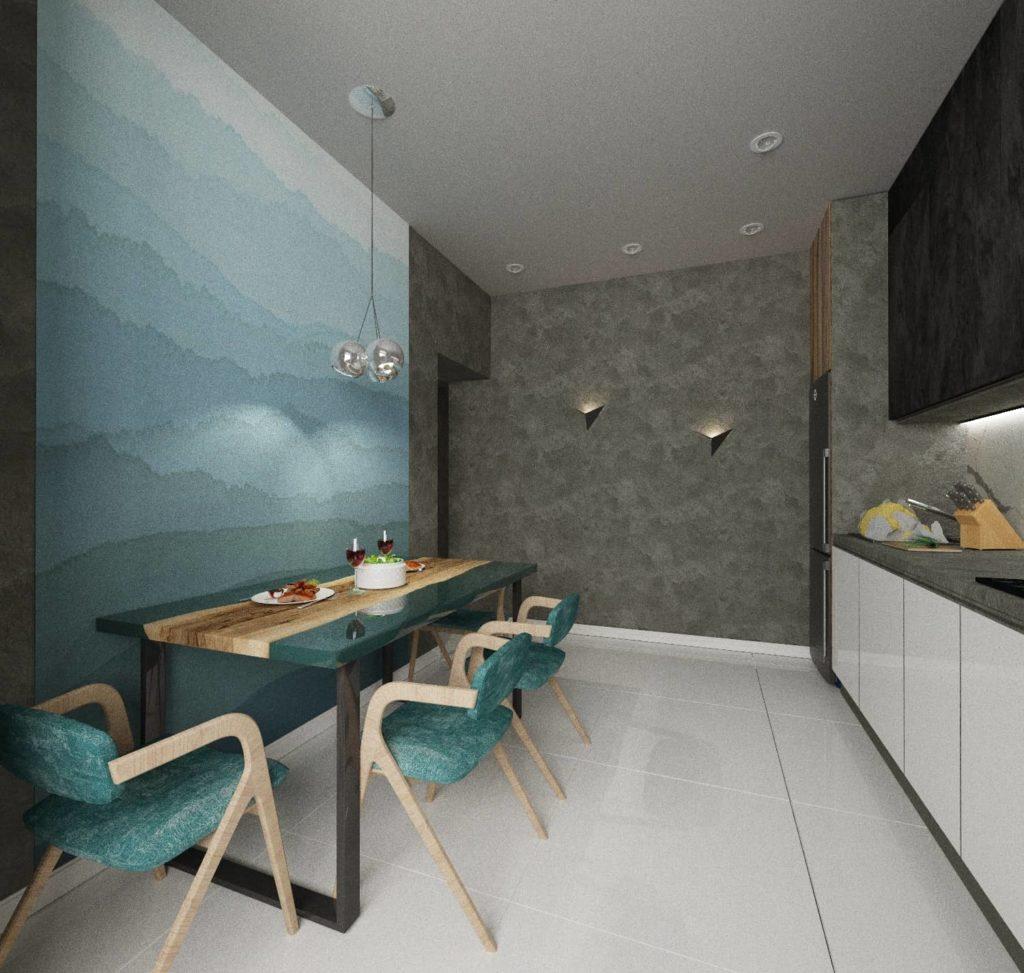 Дизайн интерьера Харьков (кухня)