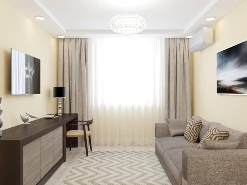 Дизайн интерьера квартиры Харьков (гостиная)