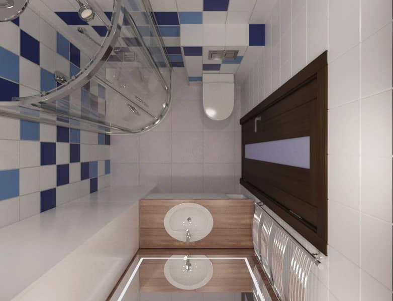 Дизайн интерьера квартиры Харьков (санузел)