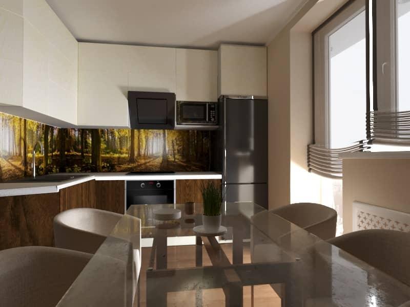 Дизайн интерьера (кухня)