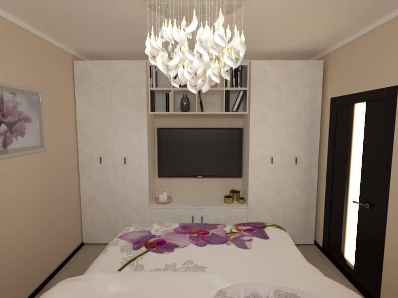 Дизайн интерьера (спальня)