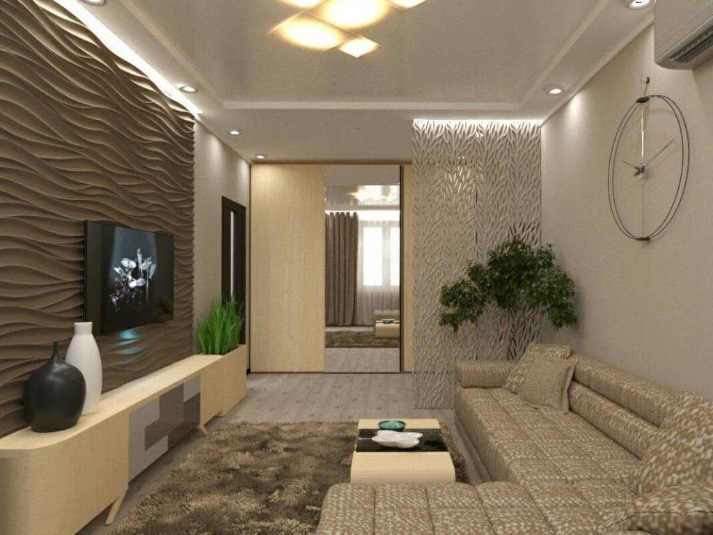 Дизайн интерьера от Trofimov (гостиная)