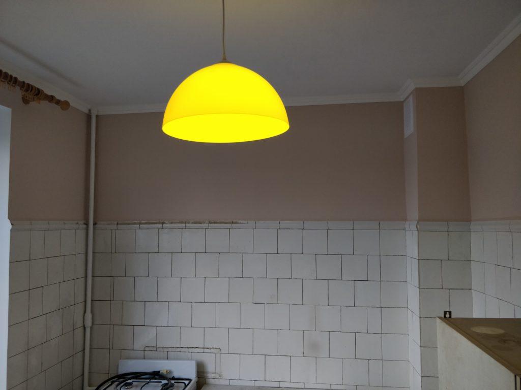 Косметический ремонт в кухне / после