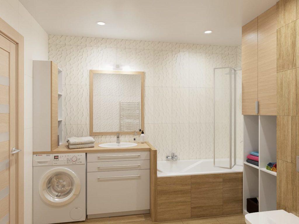 Ремонт ванной комнаты по индивидуальному проекту