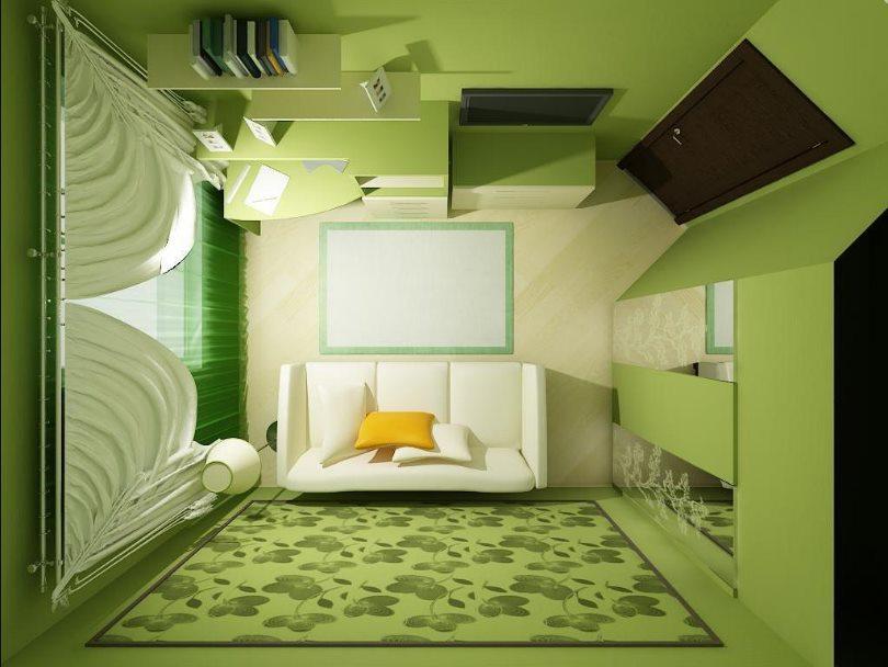 обустройство маленьких комнат