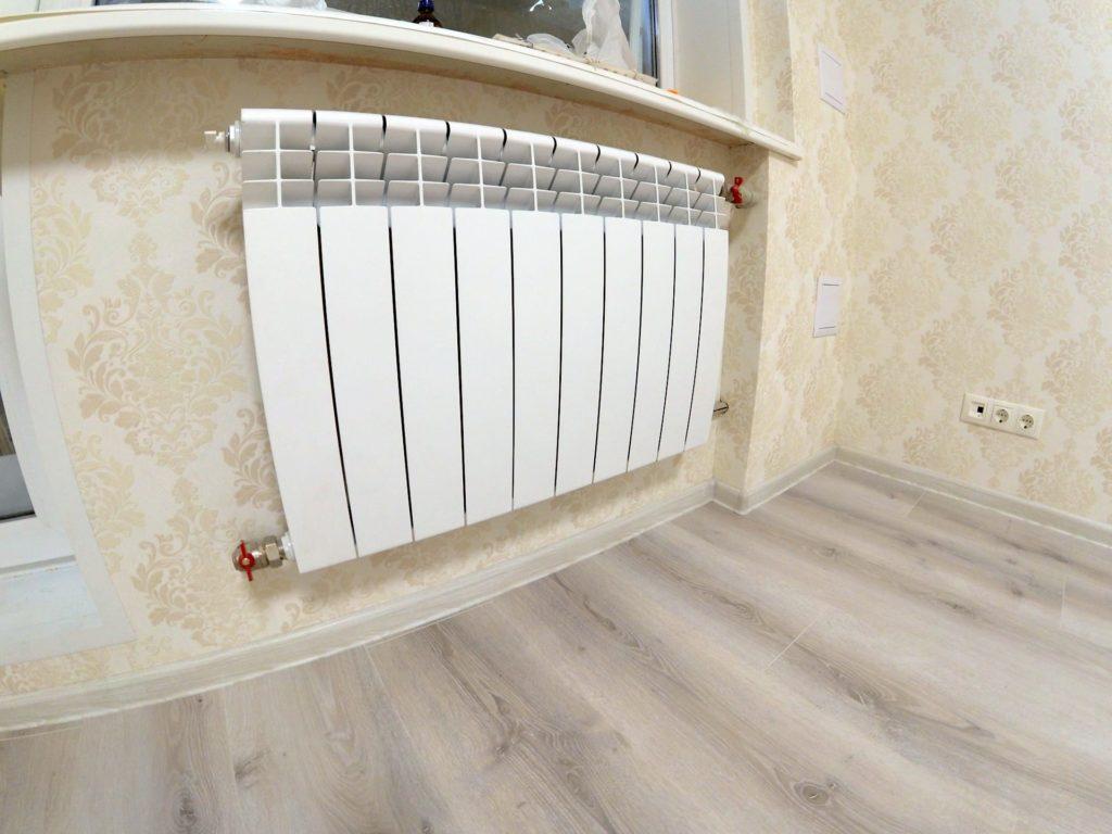 Ремонт двухкомнатной квартиры в Харькове — замена батарей