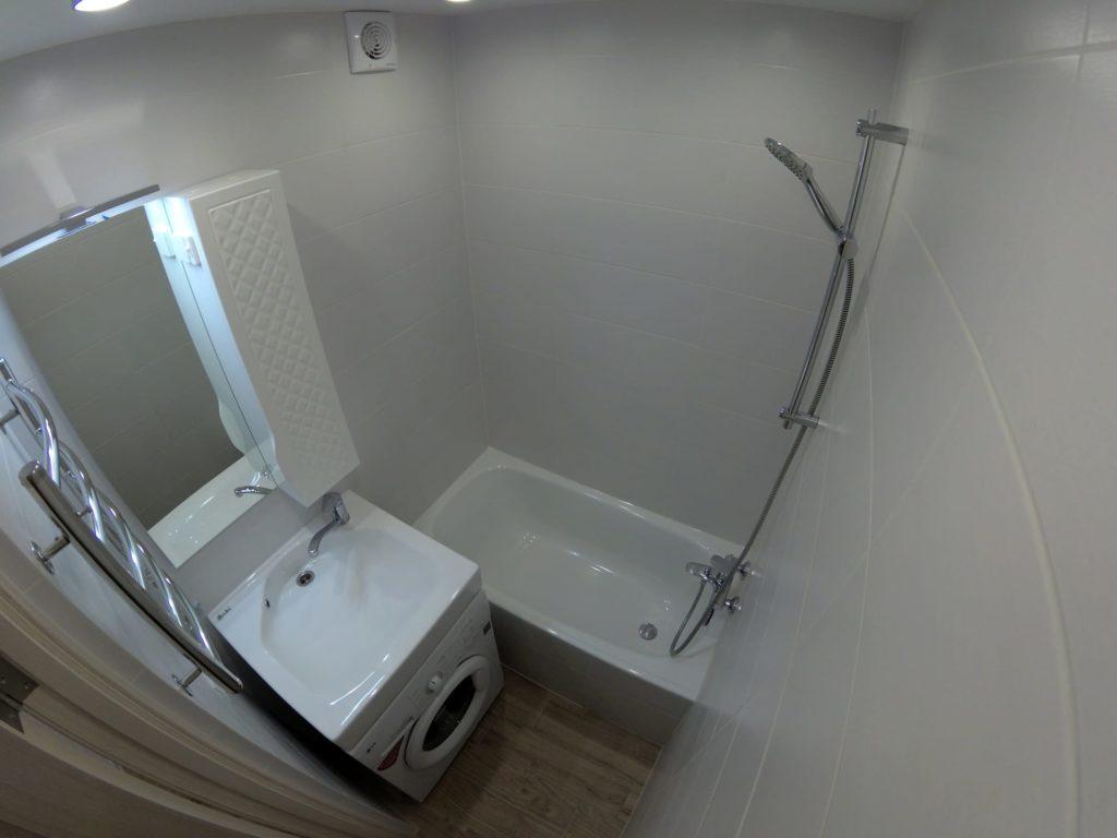 Ремонт двухкомнатной квартиры в Харькове — ванная комната