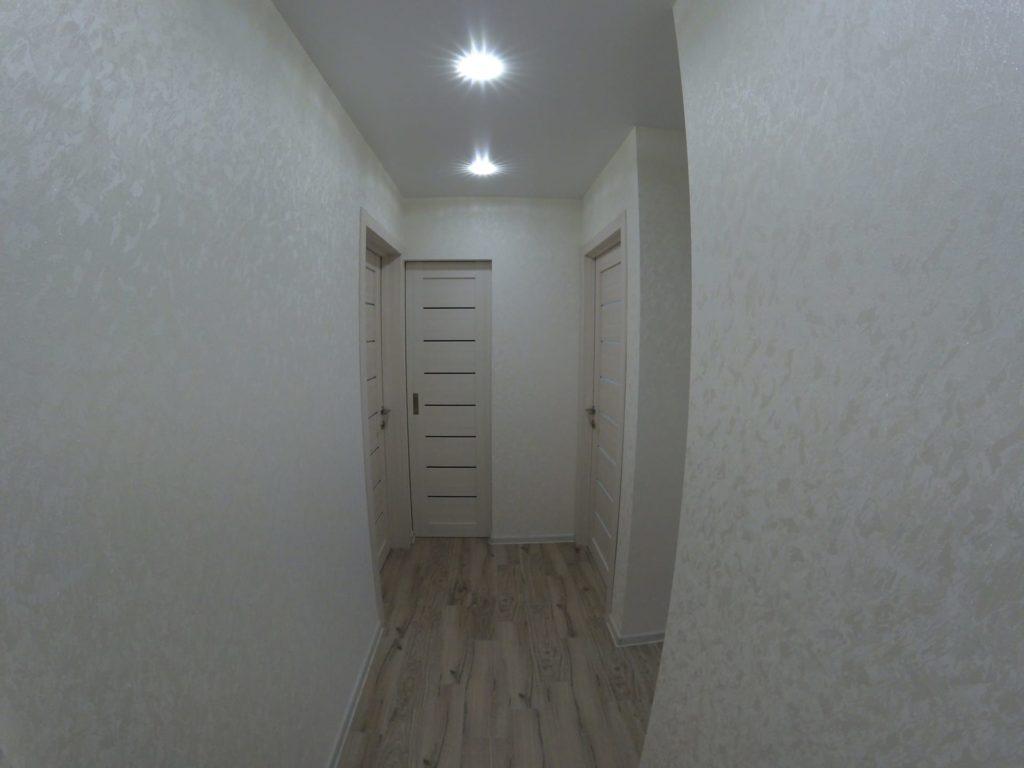 Ремонт двухкомнатной квартиры в Харькове — коридор