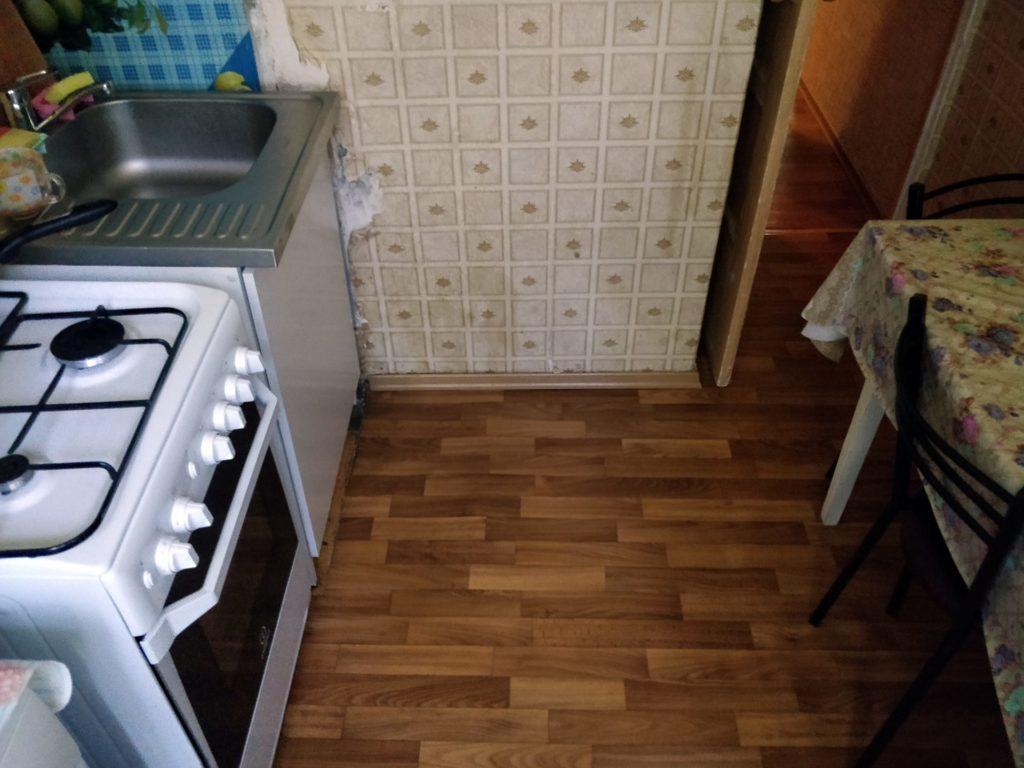 Ремонт во вторичке — кухня (до)