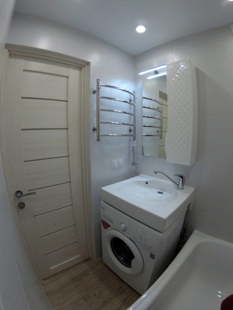 Ремонт во вторичке — ванная комната