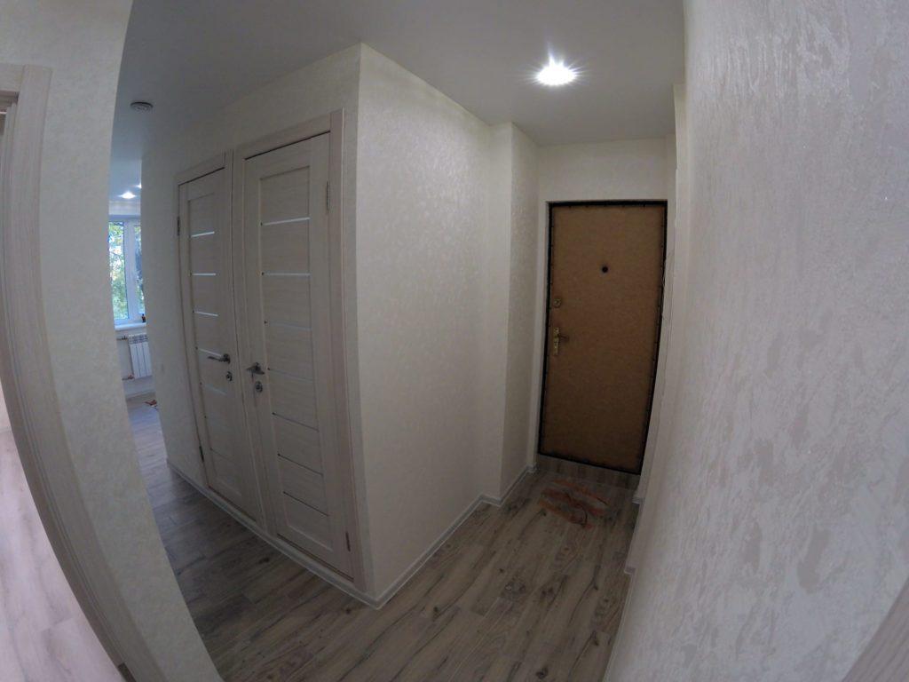Ремонт во вторичке — коридор
