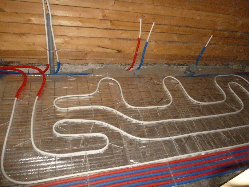 Как подключить теплый пол к электричеству