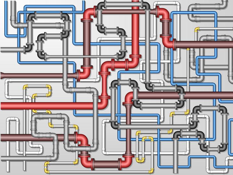 Схемы разводки водопровода