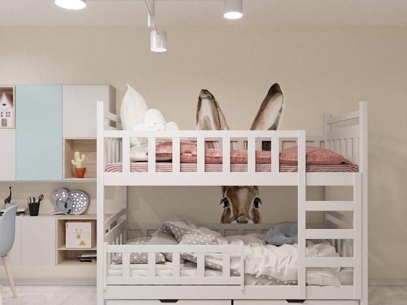Дизайн детской в двухкомнатной квартире Харьков