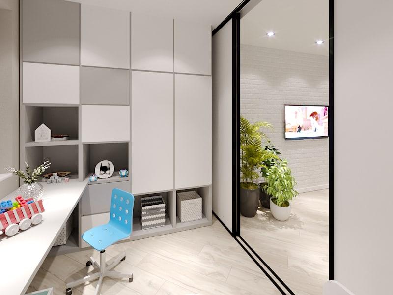 Дизайн детской в двухкомнатной квартире Харьков - Trofimov