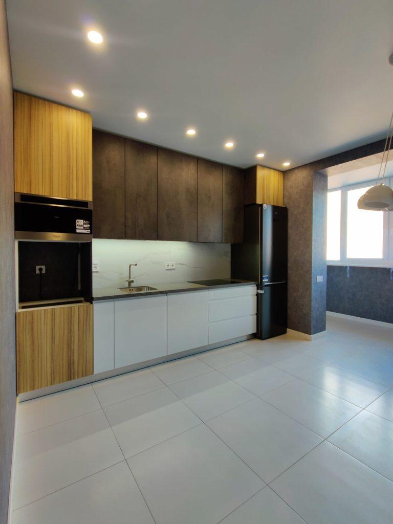 Дизайн интерьера двухкомнатной квартиры - Кухня