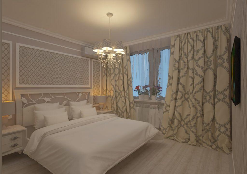 Дизайн интерьера двухкомнатной квартиры - Спальня, прованс