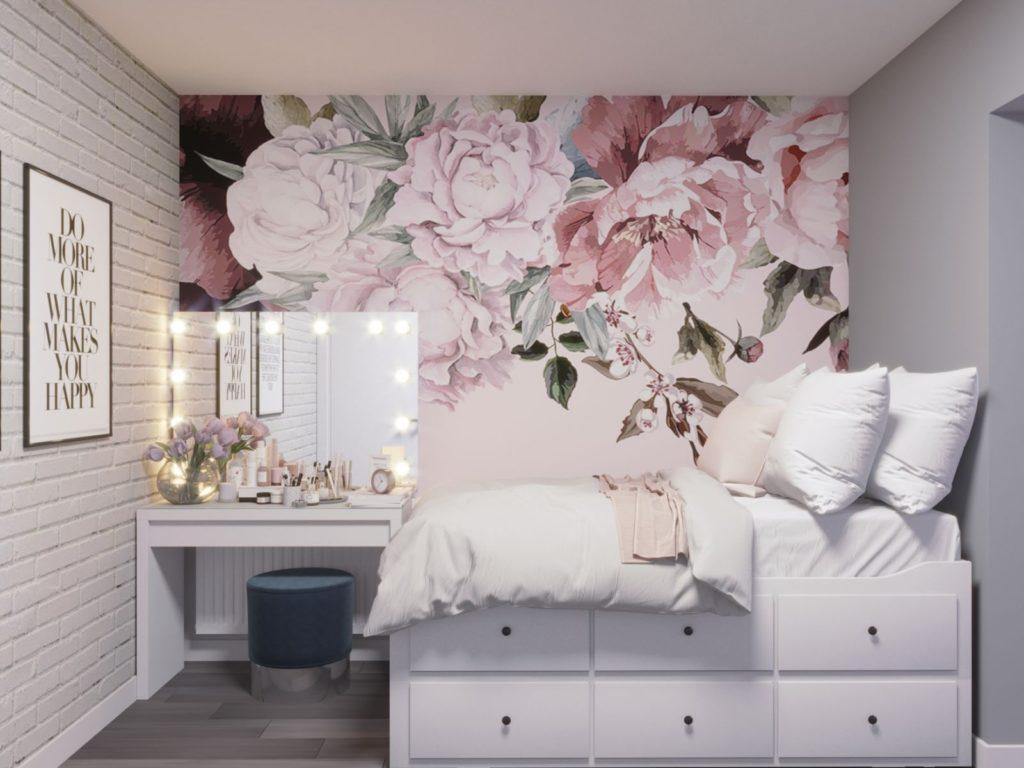 Дизайн детской спальни в двухкомнатной квартире Харьков