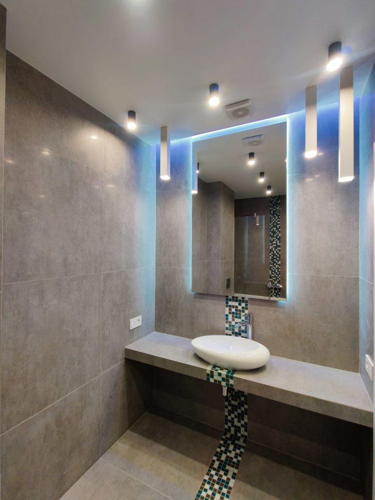Дизайн интерьера двухкомнатной квартиры - Ванная комната