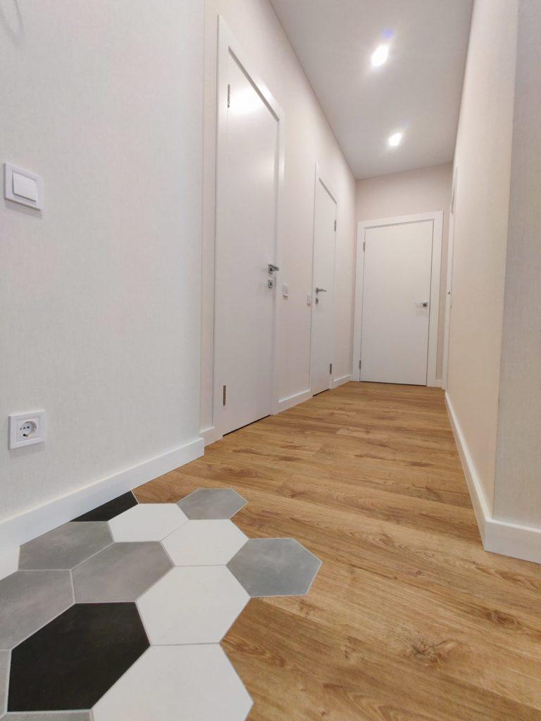 Дизайн интерьера двухкомнатной квартиры - Коридор