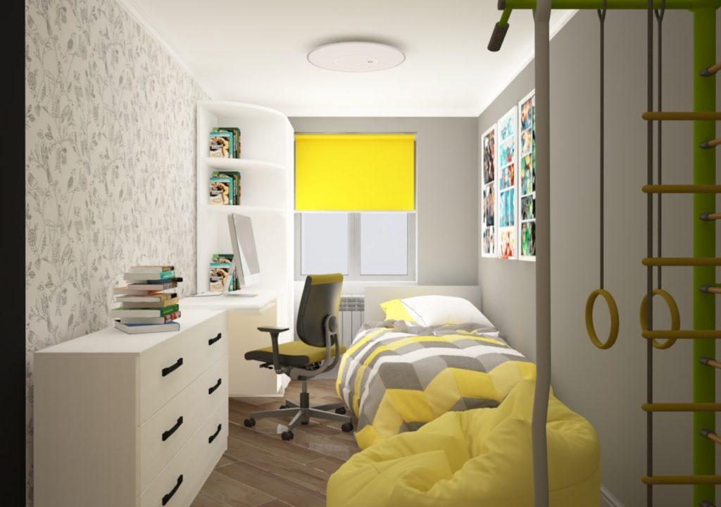 Дизайн интерьера двухкомнатной квартиры - Детская