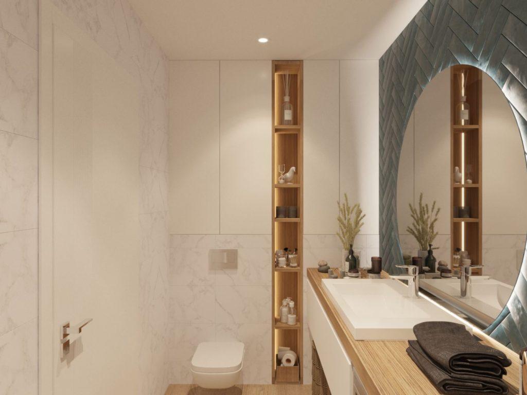 Дизайн интерьера ванной Харьков