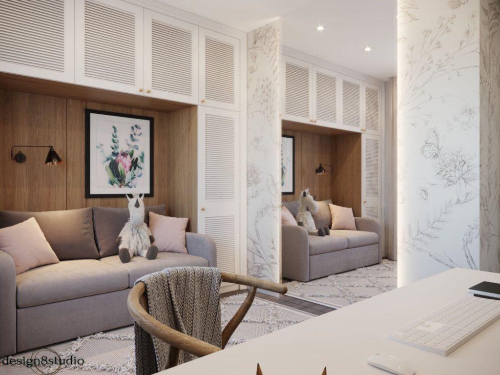 Дизайн интерьера комнаты Харьков