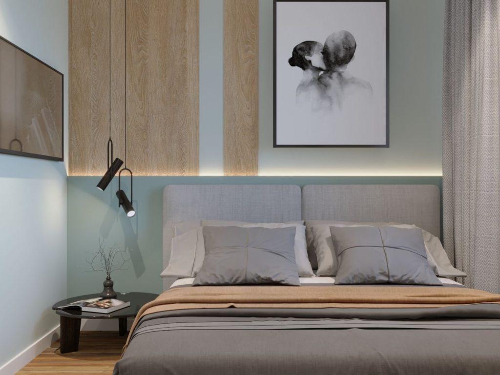 Дизайн интерьера спальни Харьков
