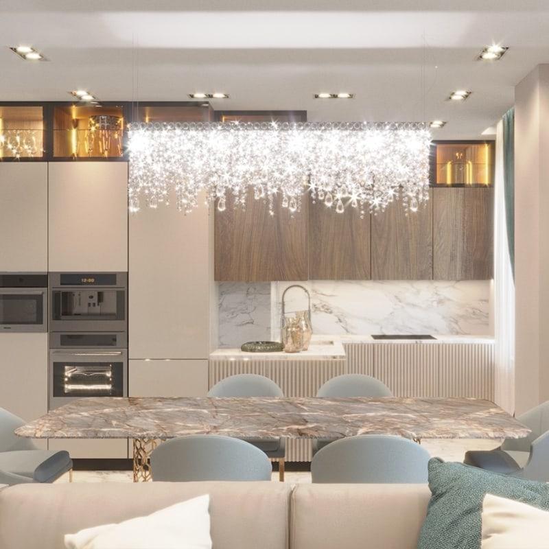 Дизайн интерьера гостиной Харьков - Trofimov