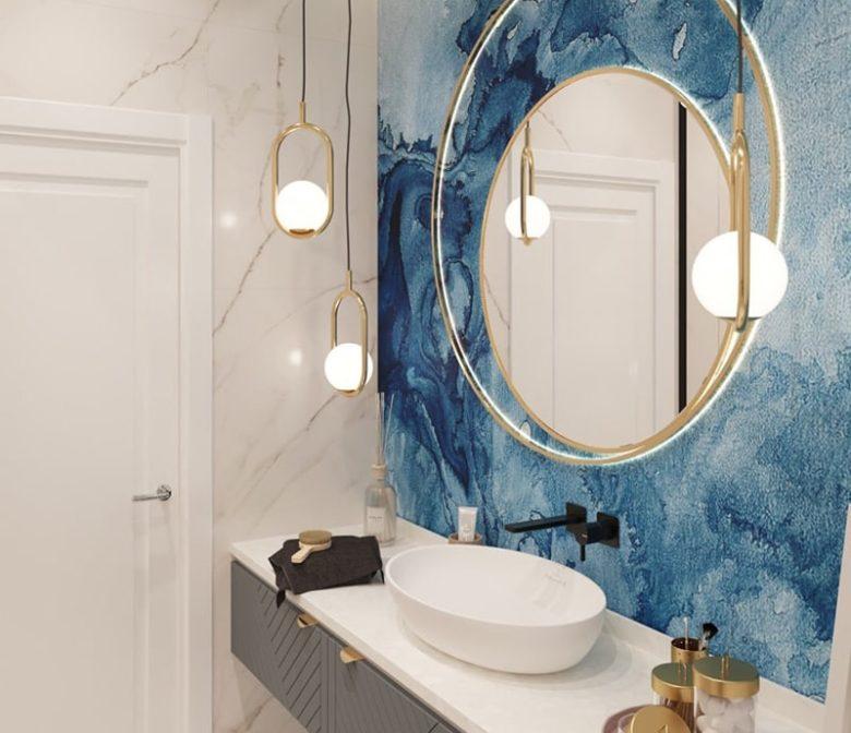 Дизайн интерьера ванной Харьков - Trofimov