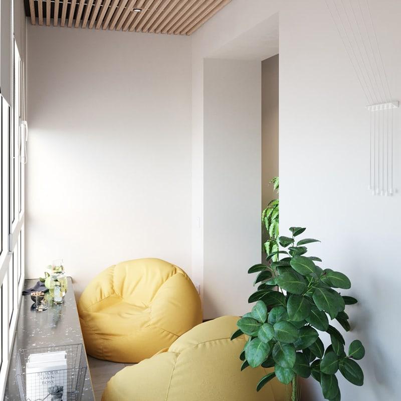 Дизайн балкона Харьков - Trofimov