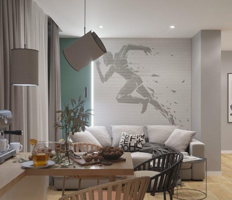 Дизайн гостиной красоты Харьков - Trofimov