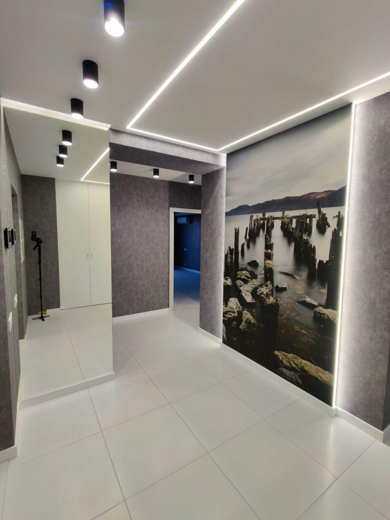 Капитальный ремонт квартиры в Харькове - прихожая