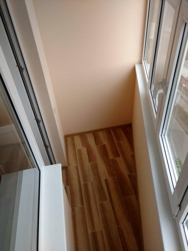 Косметический ремонт квартиры в Харькове - балкон