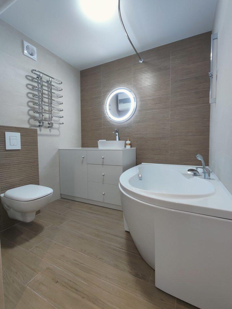 Перепланировка квартиры Харьков - ванная комната