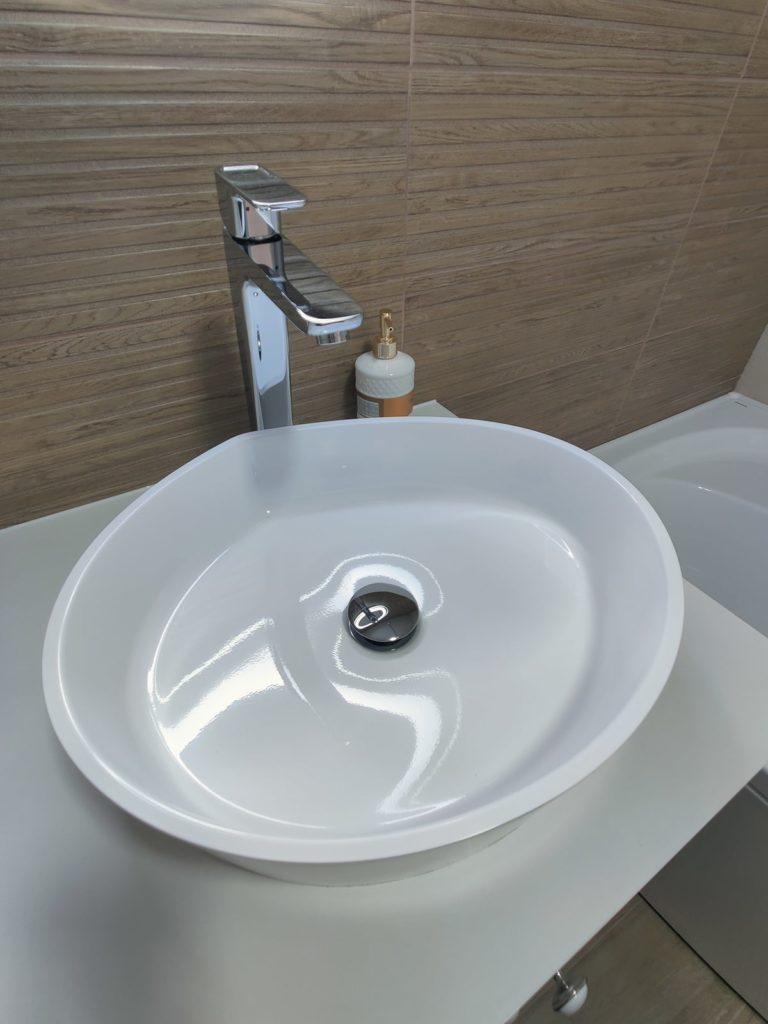 Перепланировка ванной в квартире в Харькове