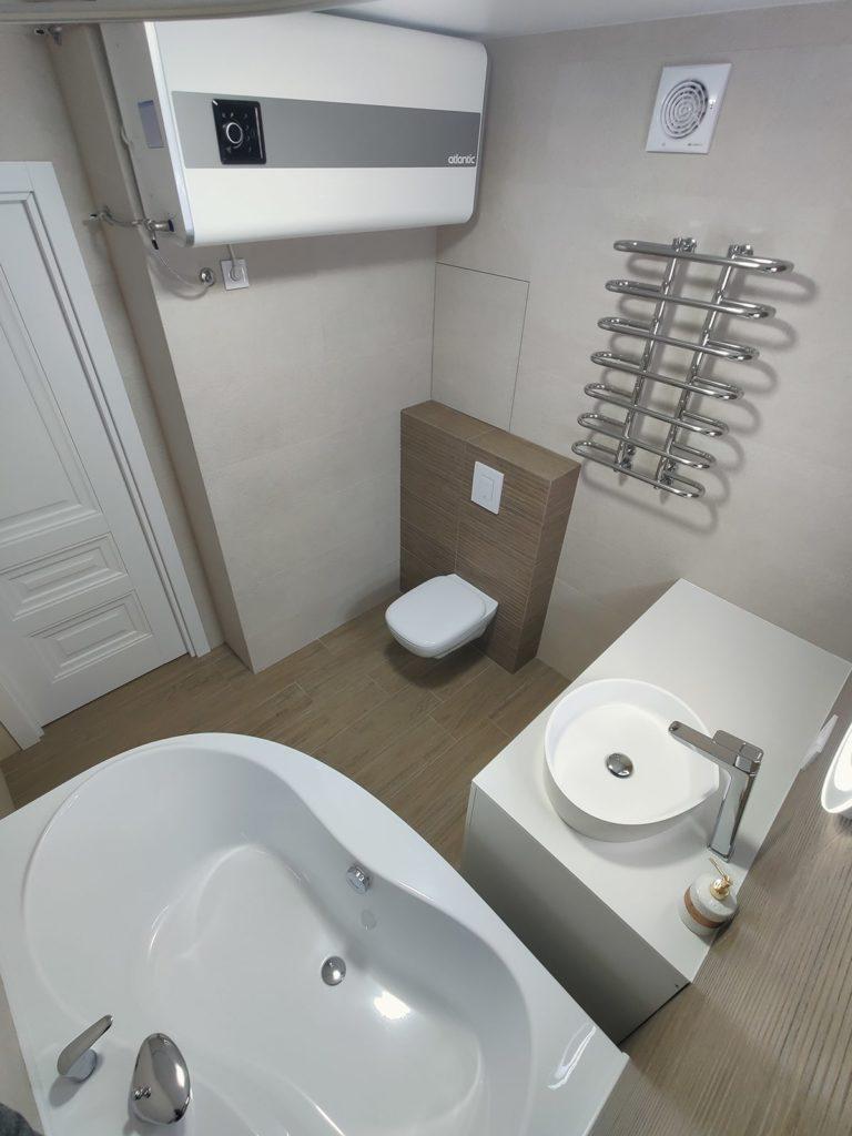 Перепланировка в квартире в Харькове - совмещенный санузел