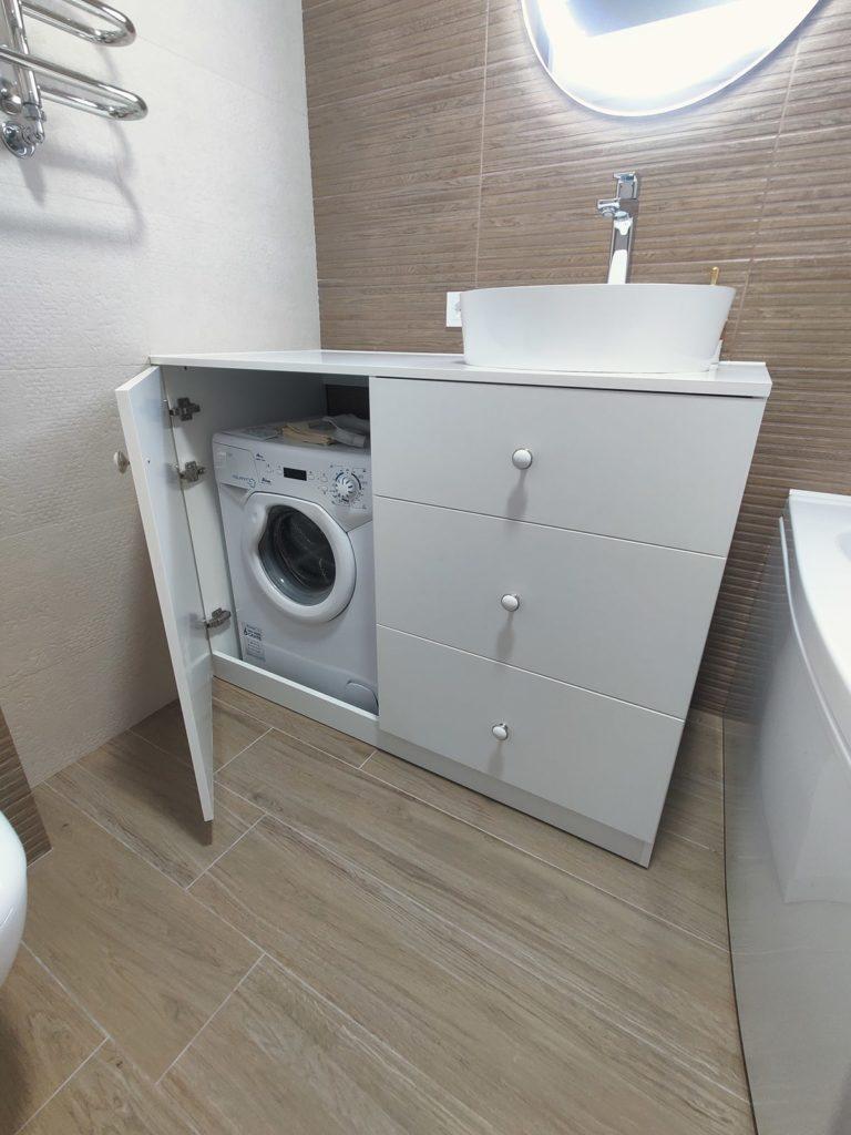 Перепланировка в квартире в Харькове - ванная