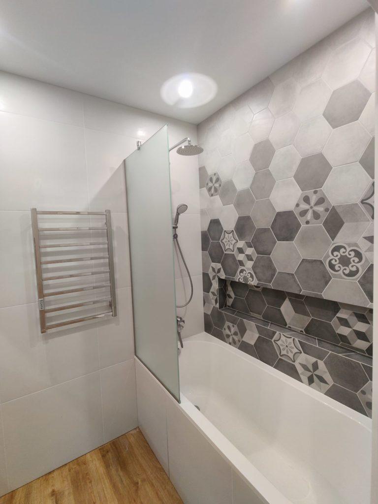 Ремонт в новостройке Харьков - ванная комната
