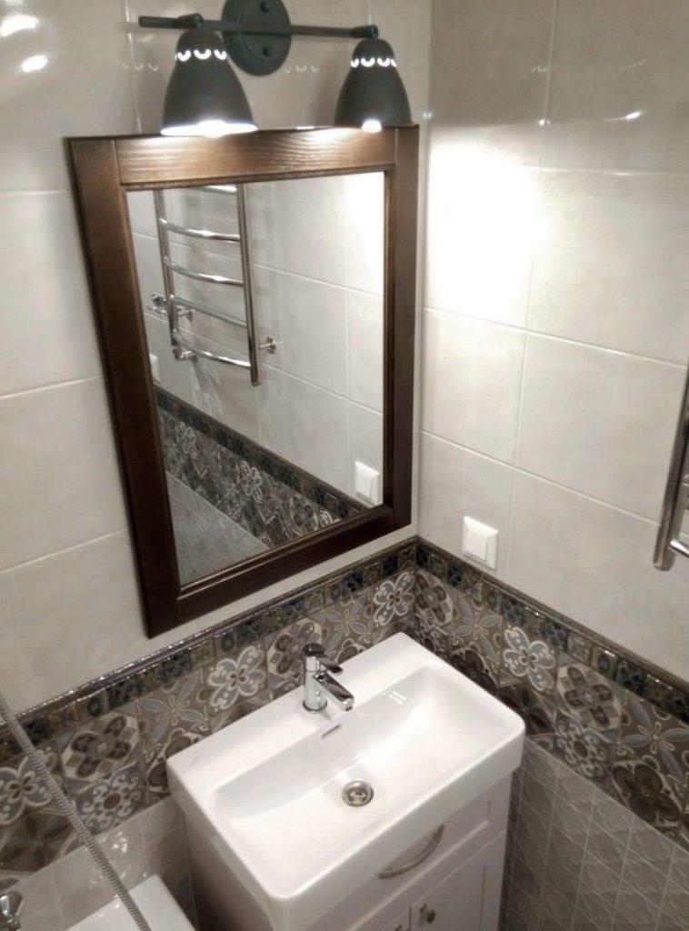 Ремонт вторичного жилья - ванная комната