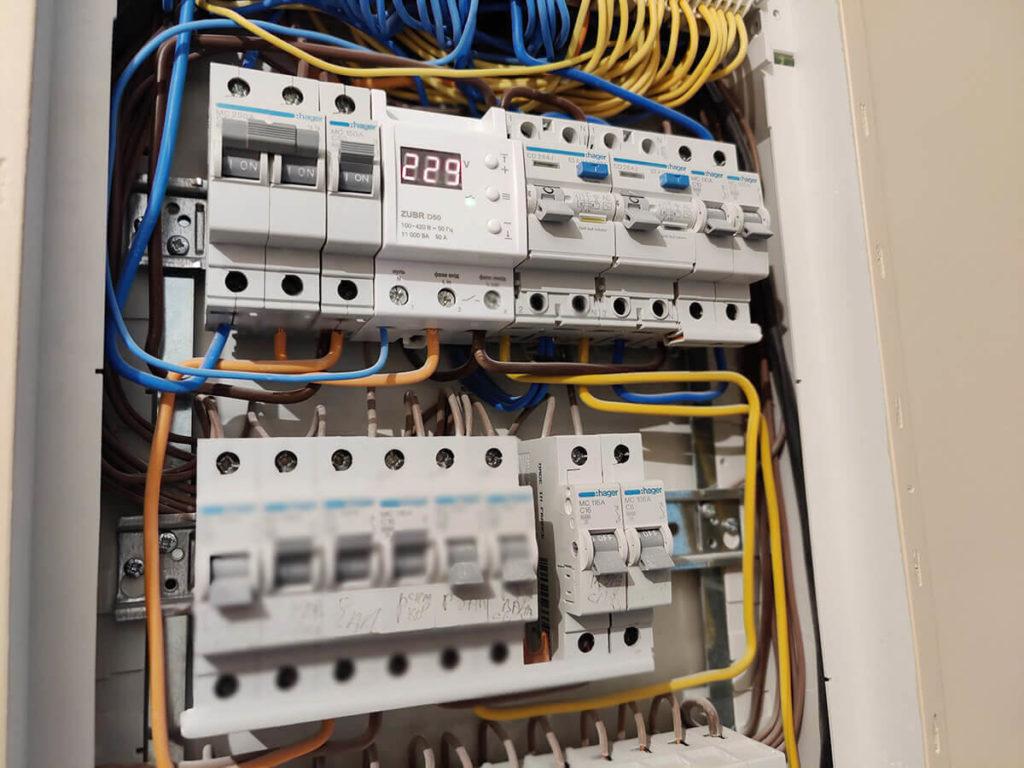 Электромонтажные работы - монтаж электрического щита