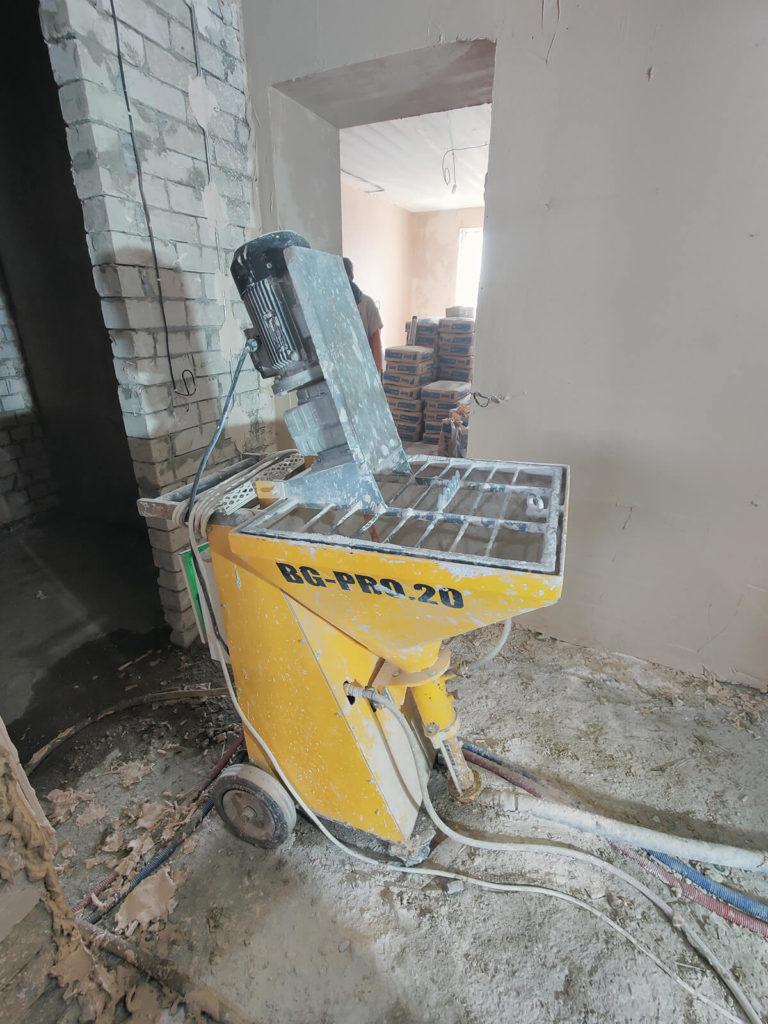 Штукатурка стен машинная оборудование